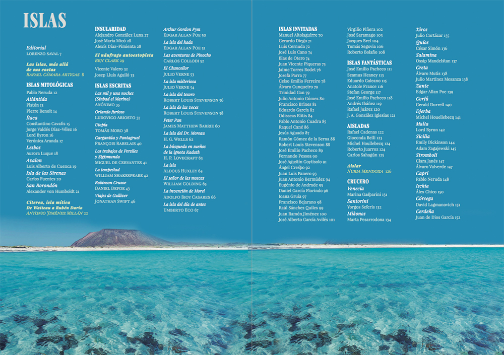 Revista Litoral nº266. Islas. Arte y literatura (interior)